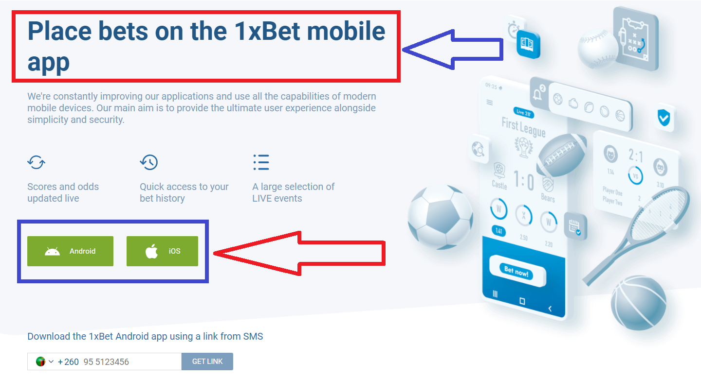 Where to find and how to download 1xBet for Android
